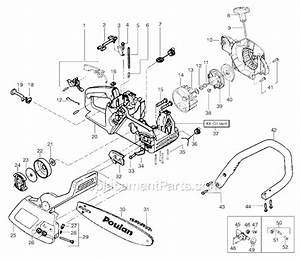 Poulan 2055 Parts List And Diagram