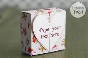 free gift box templates to download print make