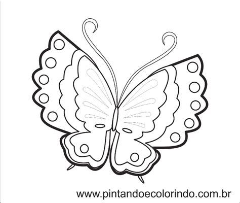 Desenhos Para Pintar Borboletas E Flores MMOD