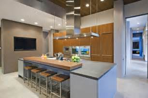 modern kitchen with modern island design