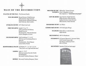 catholic funeral mass program template catholic funeral program free download the best home