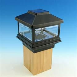 Solar Lights For Deck Posts by Solar Post Cap Light By Deckorators Decksdirect