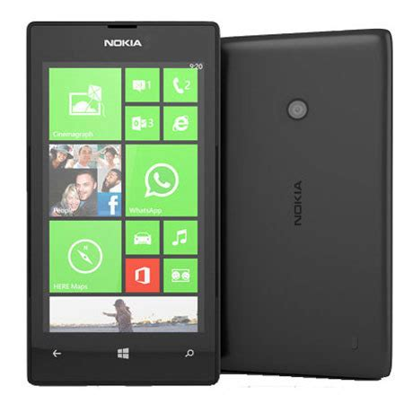 sim free nokia lumia 520 black