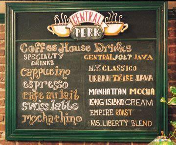 7,000+ vectors, stock photos & psd files. Central Perk menu   Princess Consuela Bananahammock ...