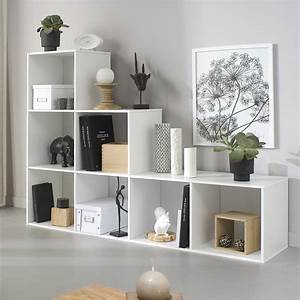 Cube De Rangement Leroy Merlin : etag re 7 cases multikaz blanc x x ~ Dailycaller-alerts.com Idées de Décoration