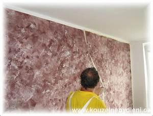 Malování stěn techniky