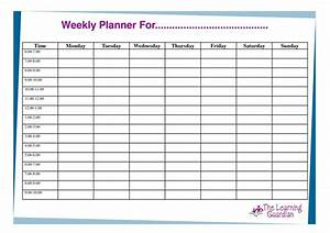 free printable weekly calendar templates weekly planner With saturday to friday calendar template