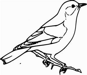 Clipart - Sparrow