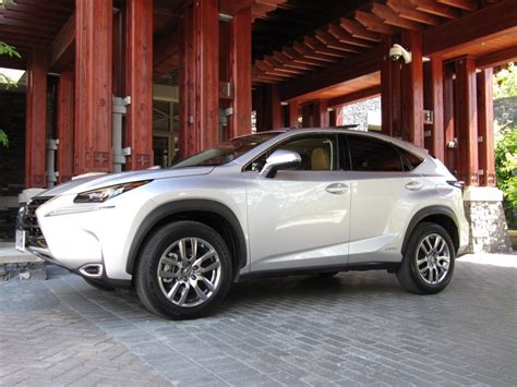 lexus hybrid 2015 2015 lexus nx 300h hybrid vehicle with a difference