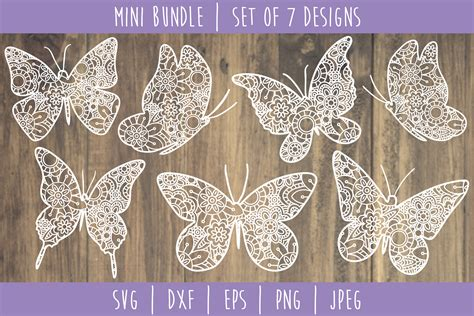 The vector file '3d butterfly mandala svg, 3d layered svg cut files' is a coreldraw cdr or autocad dxf file type(.cdr,.dxf ) you will receive a 1 zip folder that contains one of the following file formats: Butterfly Mandala Zentangle Bundle Set of 7 - SVG