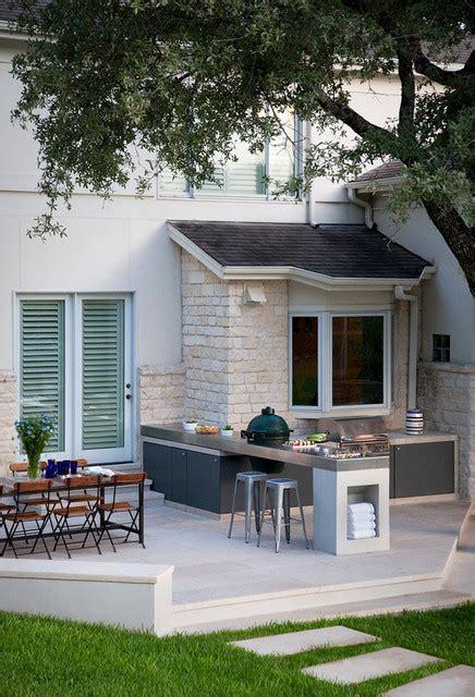 idee amenagement cuisine d ete oak contemporary patio by