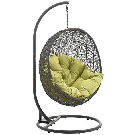 Swing Chair Stand hide outdoor patio swing chair with stand