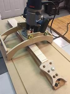 Multi-function Fingerboard Radius Jig by LedBelli Bass