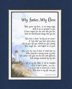 My Father My Hero, #18, A Birthday Gift For Dad Poem, 50th ...