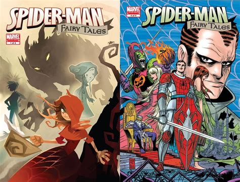 Spider-man Fairy Tales #1-4 (2007) Complete