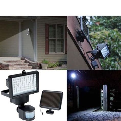 solar powered  led pir infrared motion sensor security