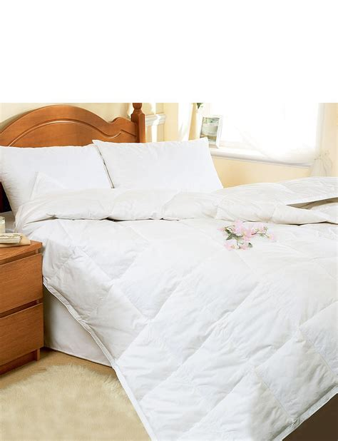 Goose Feather Duvet - goose feather combination duvet by downland home