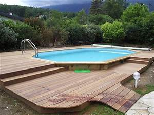Amenagement Piscine Hors Sol : photo piscine amenagement en bois piscine ~ Preciouscoupons.com Idées de Décoration
