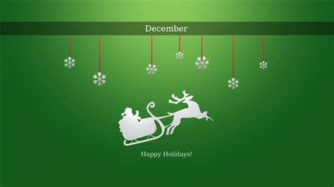 happy december holidays wallpapers hd wallpapers id