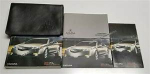 2011 Acura Tl Owners Manual User Guide Luxury Sport Sh