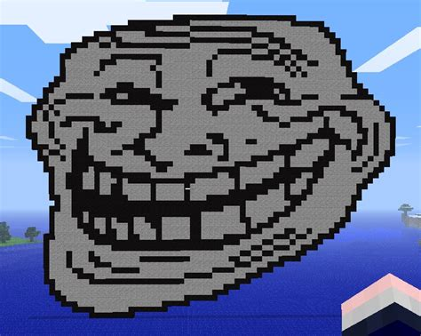 Troll Face Minecraft Project