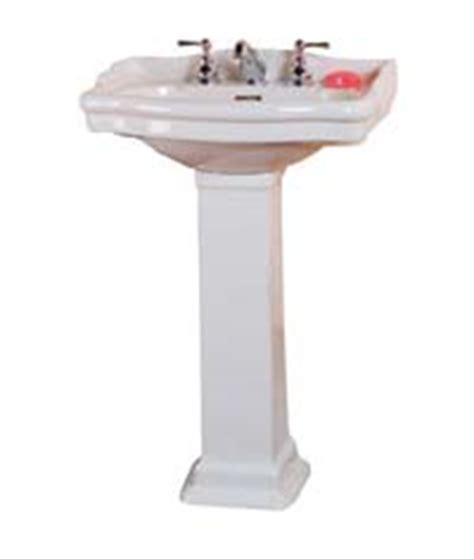 Barclay Pedestal Sink Stanford by Barclay Porcelain Regular And Corner Pedestal Sinks