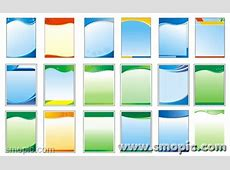 18 simple common vertical panels background Coreldraw