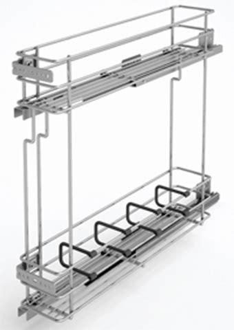 Quincaillerie Cuisine - combine bas coulissant pour meuble 150mm aménagement de