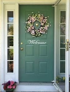 Front Door Decorated