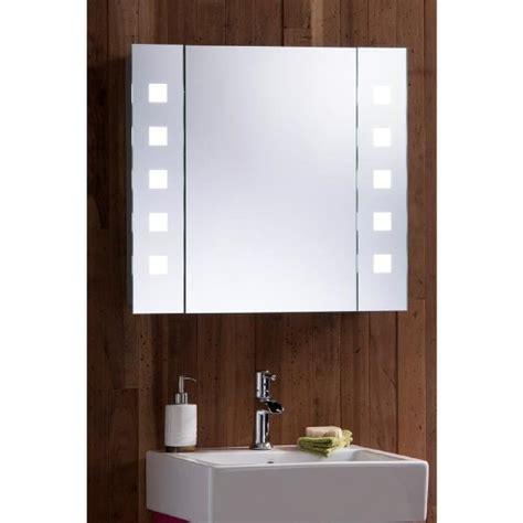armoire de toilette pour salle de bain avec miroir lumineux antibu 233 e prise pour rasoir