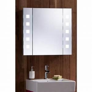 stunning armoire salle de bain miroir photos design With salle de bain design avec armoire salle de bain