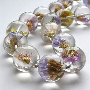 resin + flowers = gorgeous | Jewlery | Pinterest