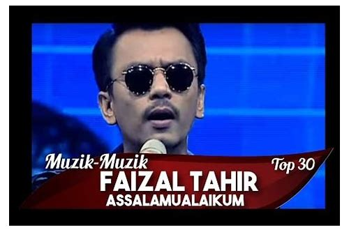 faizal tahir assalamualaikum akustik mp3 free download