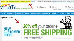 promo code applied vistaprint custom printing deals With vistaprint wedding invitations promo code