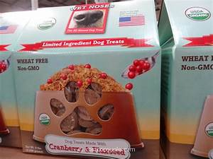 Wet noses organic cranberry and flaxseed dog treats for Costco natural dog food