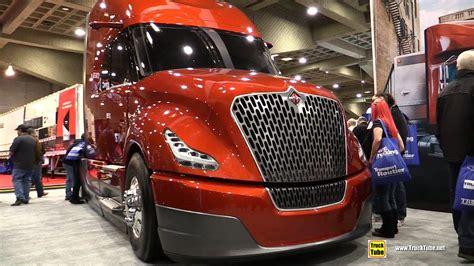 international navistar super truck catalist walkaround