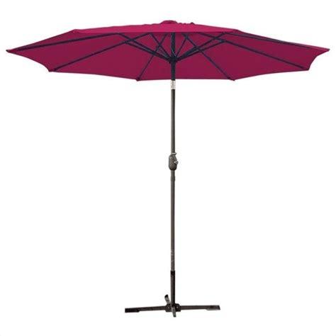 grey patio umbrella hdu5043 9ft patio charcoal grey