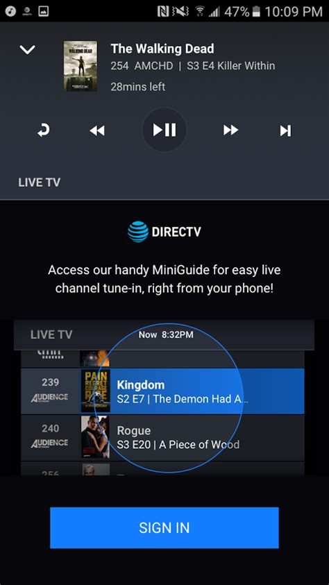 directv android app directv remote app can your receiver from your phone