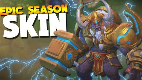 New Season Skin Minotaur