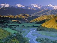 South Island New Zealand Mountain Range