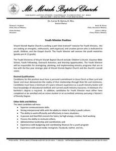youth ministry description resume vacant churches the wire page 2