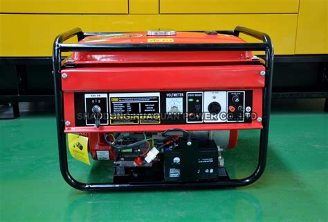 2kw 220 Volt Portable Mini Gasoline Generator