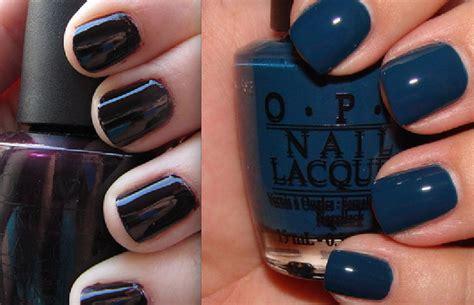 Opi Nail Polish In Lincoln Park After Dark And Ski Teal We