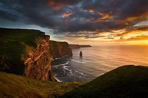 Beautiful Cliffs Of Moher Sunset