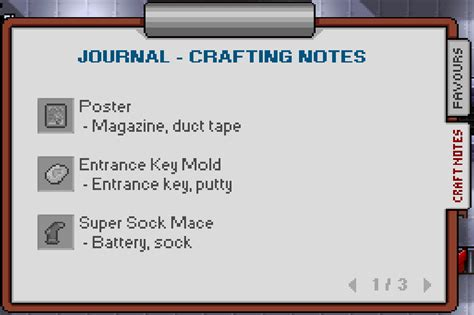 image screenshot journal crafting notespng