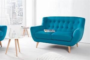 Retro Sofa 2 Sitzer : skandinavisches 2er sofa online kaufen riess ~ Bigdaddyawards.com Haus und Dekorationen