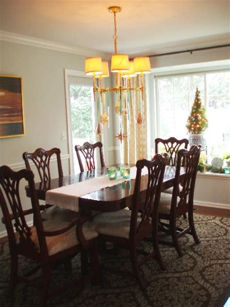 chippendale dining chairs transitional dining room