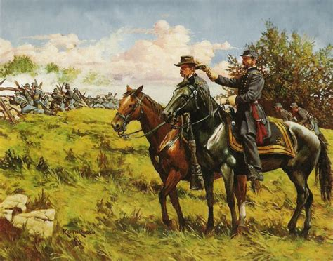 mort kunstler civil war paintings  soldiers view