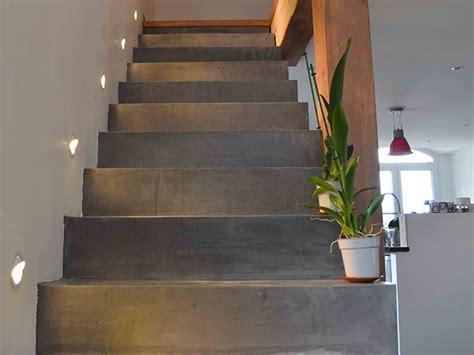 renover escalier carrel recouvrir un escalier en carrelage 13 application du beton cire sur un