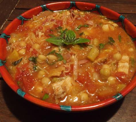 cuisine au grill soupe au poulet grillé façon minestrone blogs de cuisine
